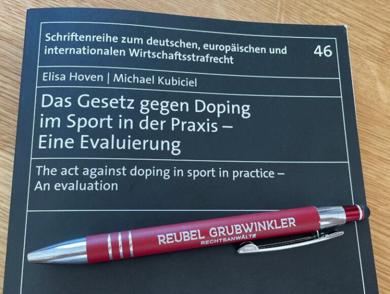 Anti-Doping-Gesetz Anwalt