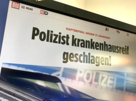 gefährliche Körperverletzung an Polizisten in Regensburg
