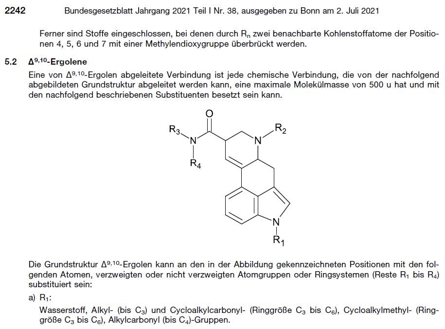 1CP LSD verboten NpSG