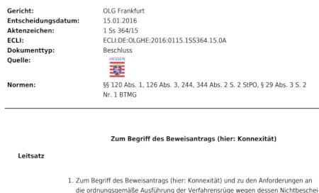 Gewerbsmäßiges Handeltreiben mit Betäubungsmitteln § 29 III BtMG