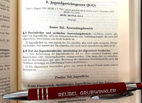 Anwalt Jugendstrafrecht JGG