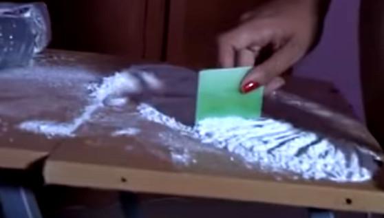 Nicht geringe Menge Kokain